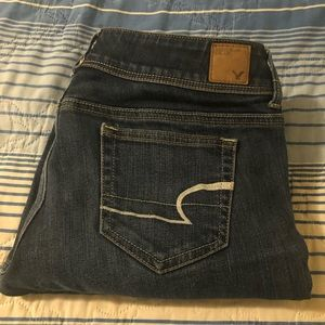 Size 8 American Eagle bootcut jeans
